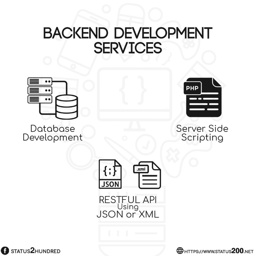 back-end development services