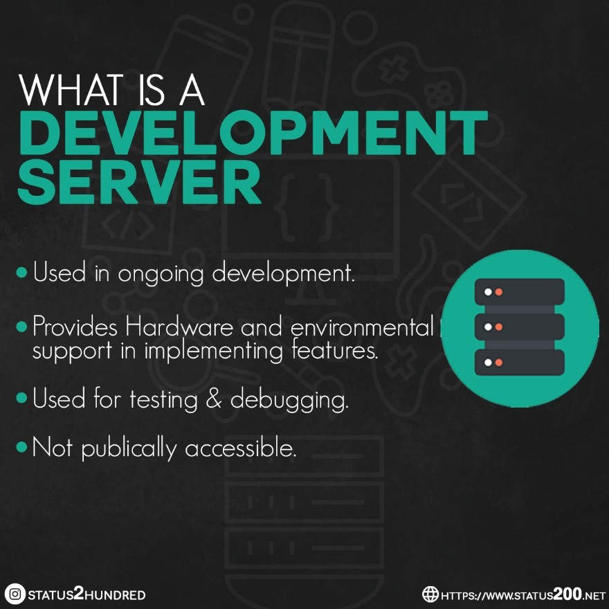 what is a development server