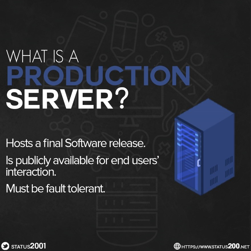 what is a production server
