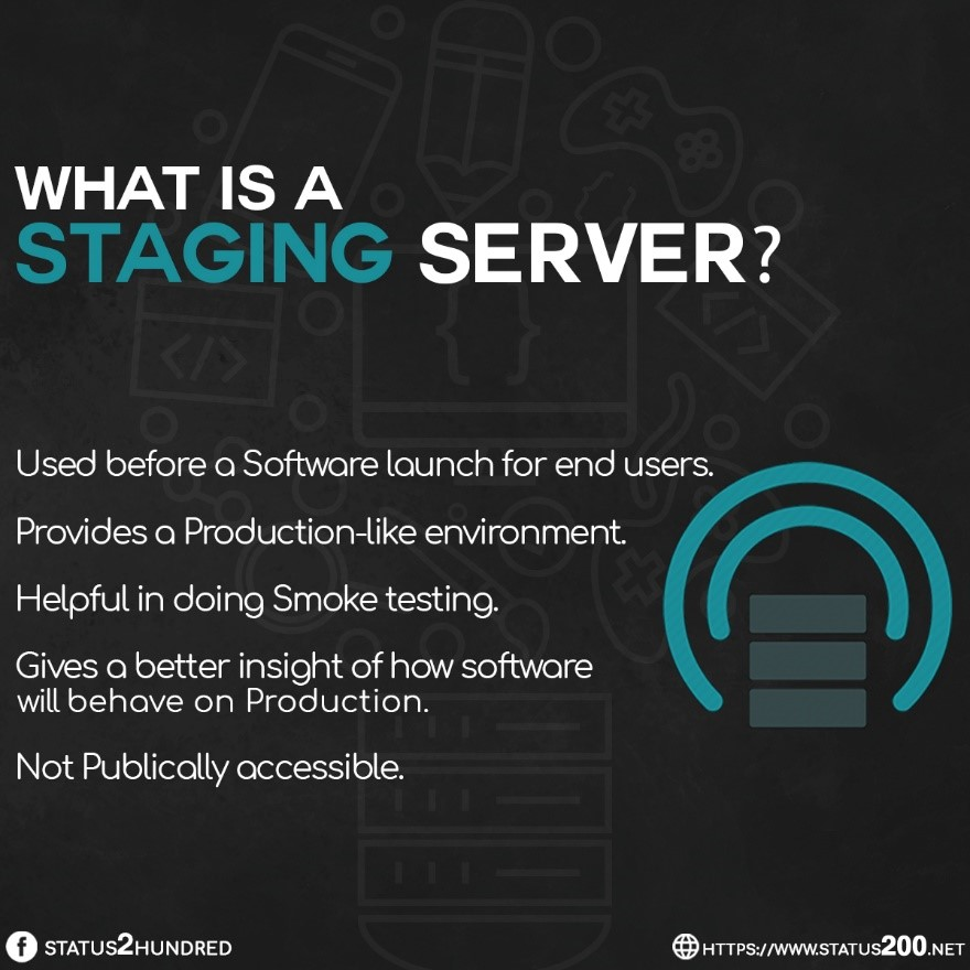 what is a staging server